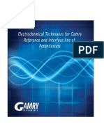 Electrochemical Techniques Matched to Gamry Potentiostats