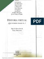 Niall Ferguson-Historia virtual