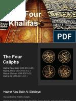 The Four Khalifas - Rai Aun Iqbal