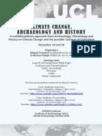 Conferencia Cambio Climatico (Flyer)