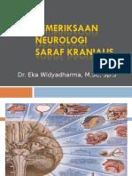 02. Tata Pemeriksaan Neurologi Saraf Kranialis