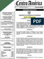 Dto. 49-2016 Ley de Implementación Del Control Telemático en El Proceso Penal