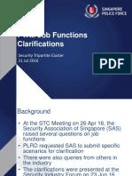 PWM Job Functions Clarifications