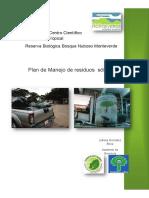 Plan de Manejo de Desechos Solidos Revisado