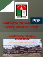 Plan Mejoramiento Institucional - 2009