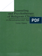 Counseling and Psychotherapy of Religiou - Vicky Genia