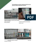 Gambar Hasil Dari Pemeriksaan Urine Terhadap Protein Dan Glukosa