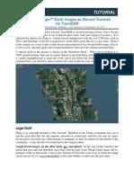 Trainz Tutorial - Detailed Google Earth Images as Ground Textures via TranzDEM