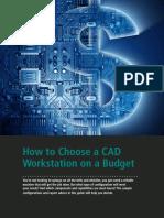 Choose Budget Workstation Guide