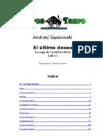 Sapkowski Andzrej - Geralt de Rivia I _ El Ultimo Deseo