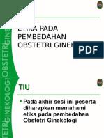 Bab 1 -Etika Pada Pembedahan Obstetri Ginekologi