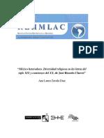 Mexico Heterodoxo. Diversidade Religiosa Nas Letras Do Seculo XIX Resenha