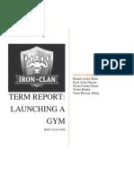 Iron Clan gym Report