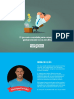 eBook 12 Passos Essenciais Para Comecar a Ganhar Dinheiro Com Seu Blog