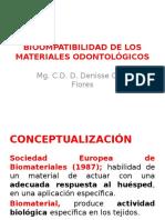 Bioompatibilidad de Losmateriales Odontológicos