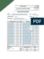 2016-11-21 Kvs-fi-03-1 Lista de Documentos y Planos