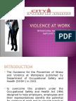 VIOLENCE AT WORK.ppt