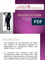VIOLENCE AT WORK.ppt