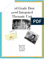 dust bowl integrated thematic unit  1