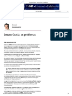 23-11-16 Francisco Garfias - Lozano Gracia, En Problemas
