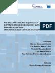 Inclusin y Equidad en Ies Amrica Latina Aproximaciones Crticas a Su Normatividad