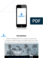 Sweat Mobile PitchDeck PDF