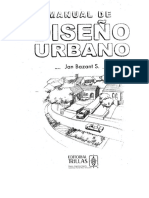 Manual de Diseño Urbano -Jan Bazart S.