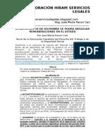 A Partir Del 16 de Diciembre Se Podrá Negociar Remuneraciones en El Estado - Jose María Pacori Cari