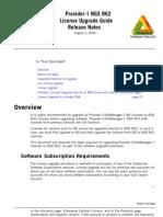 Provider-1 NGX R62 license upgrade guide