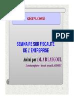 Régime Fiscale Des Filiales Françaises Au Maroc1