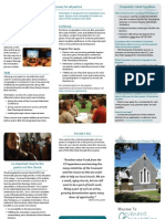 Orientation Brochure for Churches