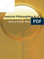 Nancy Arden McHugh - Feminist Philosophies a-Z