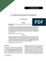 Manuscrito Colombia