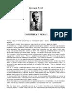 Dimitrije Ljotic - Politika i Moral