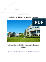 Bachelor's of Science in Nursing