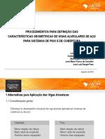 07 Procedimentos Para Definicao Das Caracteristicas Geometricas de Vigas Alveolares de Aco
