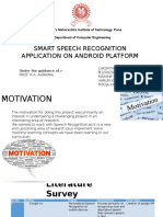 Smart Speech Recognition