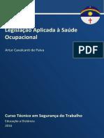 Caderno SEG TRAB (Legislação Aplicada à Saúde Ocupacional 2016)