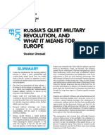 Russias Quiet Military Revolution