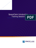 SpaceClaim2011 Introduction Session