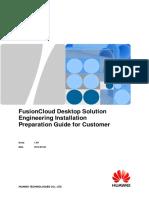 FusionCloud Desktop Solution Engineering Installation Preparation Guide for Customer