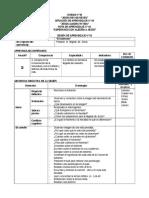SESIONES DE APRENDIZAJE  - 1º.doc