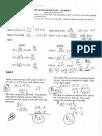 percent practice test