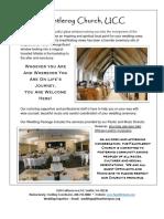 Site Visit Info Sheet 071916