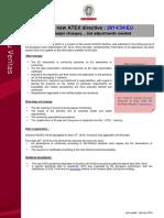 News Atex Directive VE