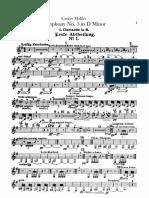 IMSLP43463 PMLP57638 Mahler Sym3.Clarinet