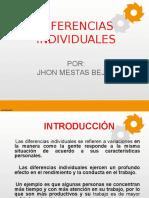 Psicologia - Diferencias Individuales