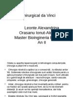Sistemul Chirurgical da Vinci revizuit.pptx