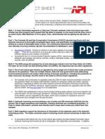 Gasland Fact Sheet