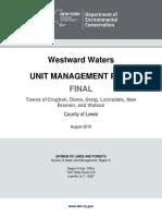 Westward Waters Unit Management Plan